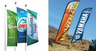 Флаги рекламные.
