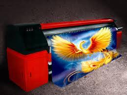 Продукция широкоформатной печати. Печать на сетке .