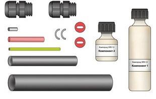 Комплект ремонтный для секций из бронированного кабеля (нагр.-нагр.) ССТ