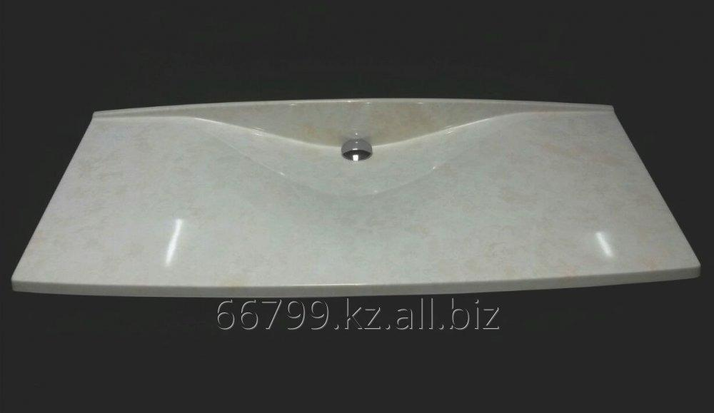 elisa an unusual table top with the integrated sink from rh kz all biz Marble Bathroom Designs marble counters in a bathroom