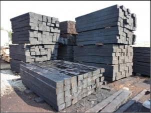 Купить Шпалы деревянные. ГОСТ 78-2004 ТИП 2 А.