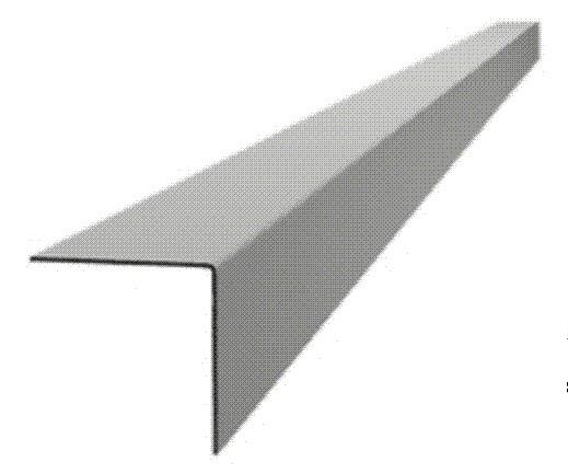 126bdfd14ec7c Профиль L образный для гранита, 600*3*2.8см, 1.5мм, 0.247кг/м купить ...