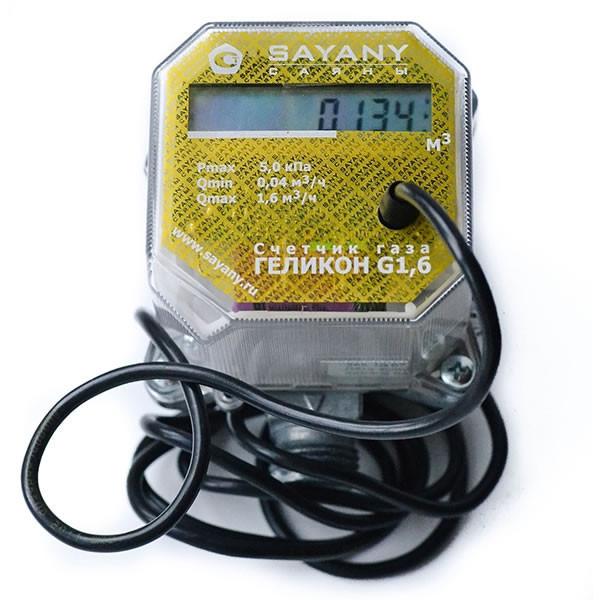 Счетчик газа Геликон G 6,0-i (10 дм3/имп) Qmax 6,0 м3/ч