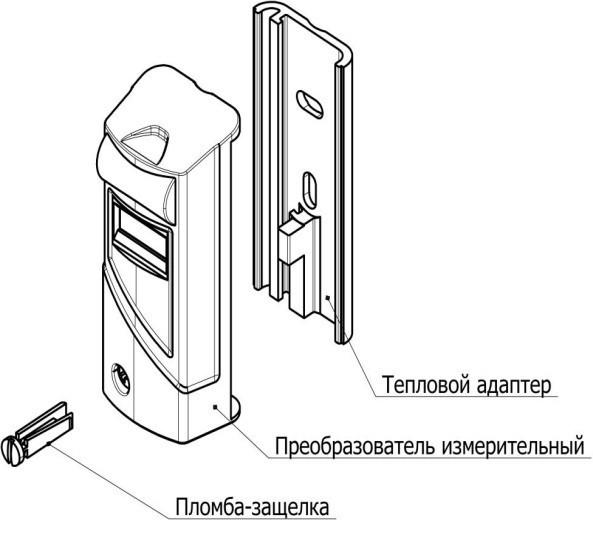 Измеритель тепловой энергии КМЧ Индивид №5