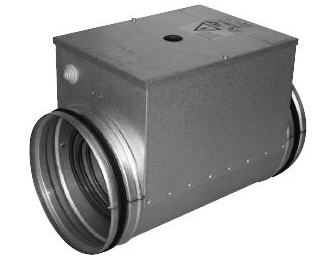 Купить Канальный нагреватель, круглого сечения, НК 100/0,6, электрокалориферы