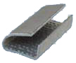 Buy Brackets metal fixing for a polyethylene tape, RET