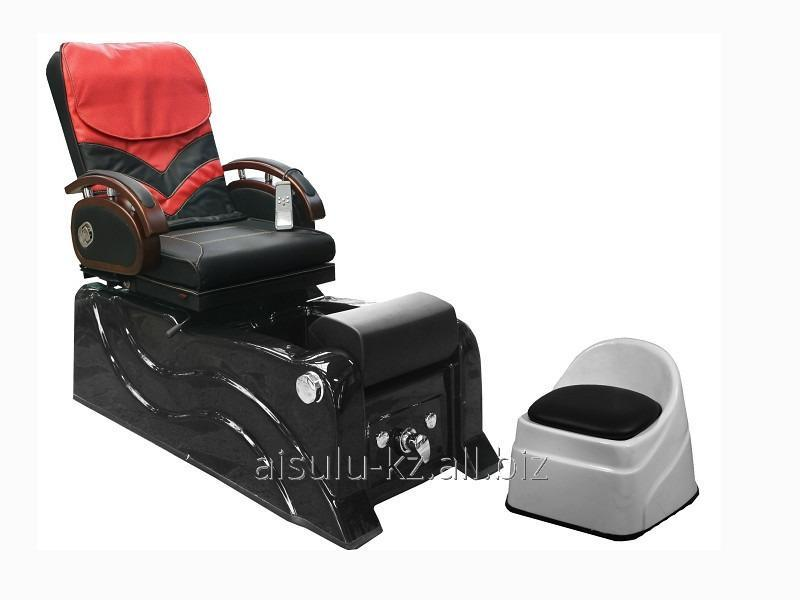 Chair pedicure with a jacuzzi (red, smooth skin) F-9827 buy in Almaty