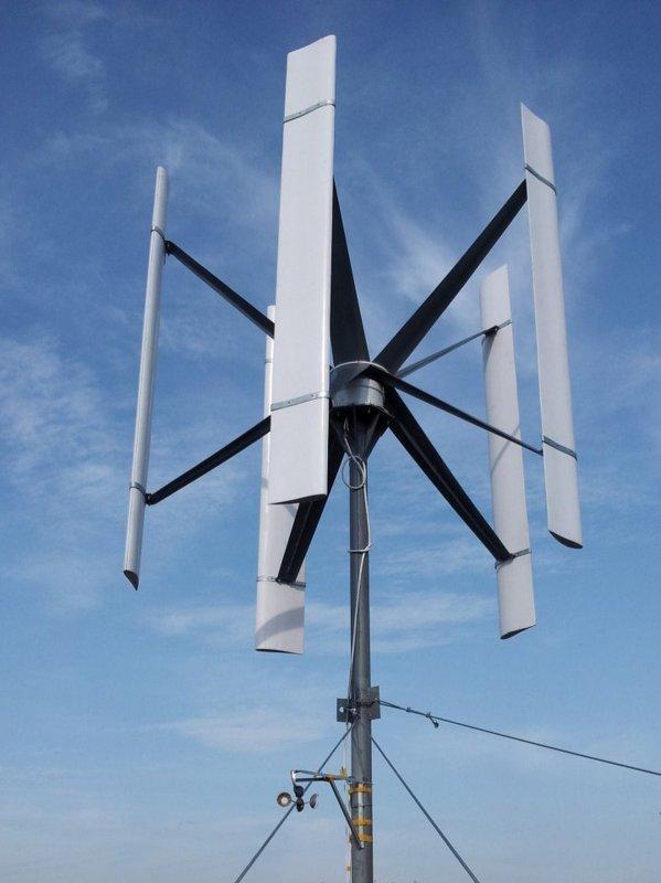 Ветрогенератор фотография
