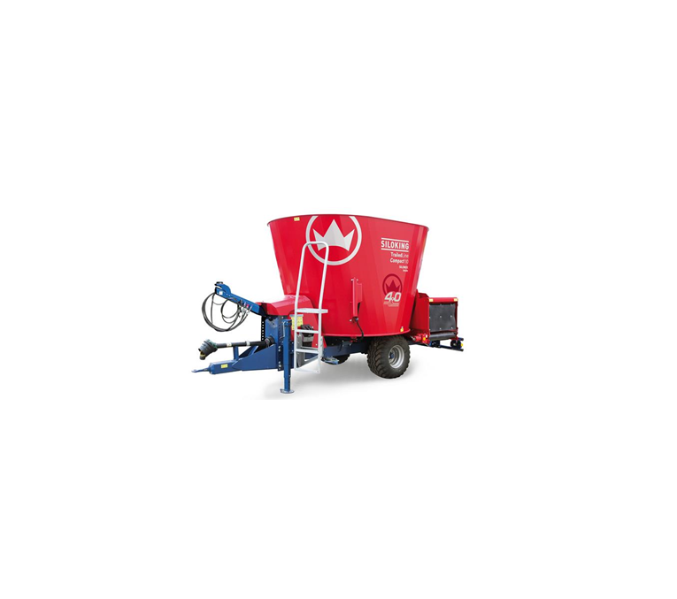 Buy Hook-on Siloking TrailedLine 4.0 Compact 9 mixer cattlefeeder of m3