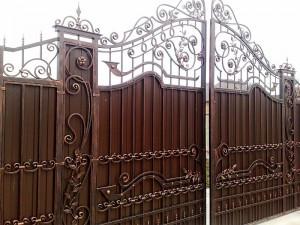 Ворота ручная работа