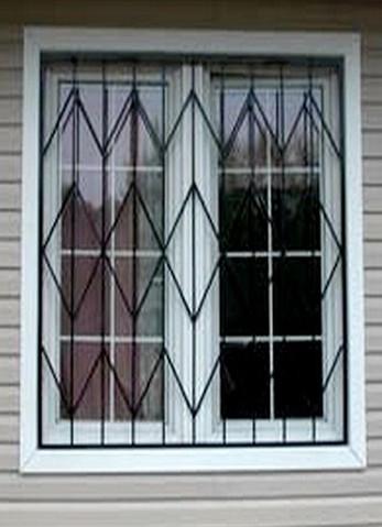 Простые решетки на окна