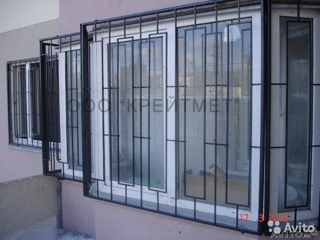 Решетка из металла для окна