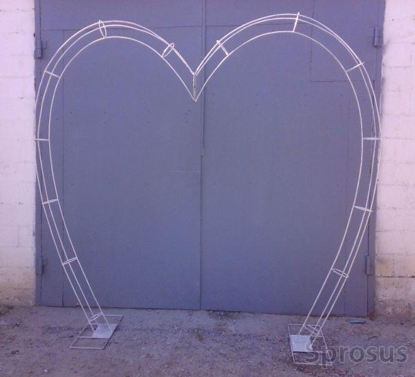Metal frameworks for wedding arches