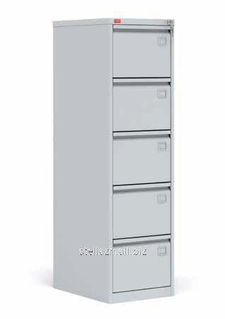Металлический картотечный шкаф (картотека) КР-5