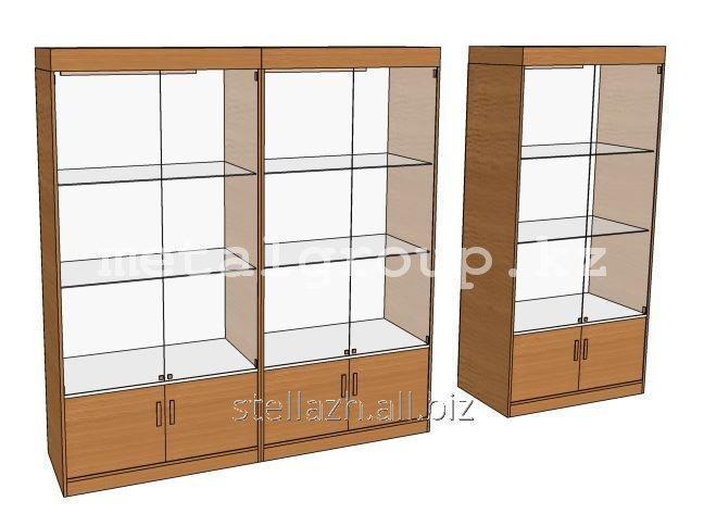 Стеклянные витрины без профиля №2