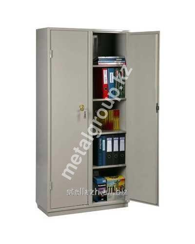 Металлический бухгалтерский шкаф КБС - 10