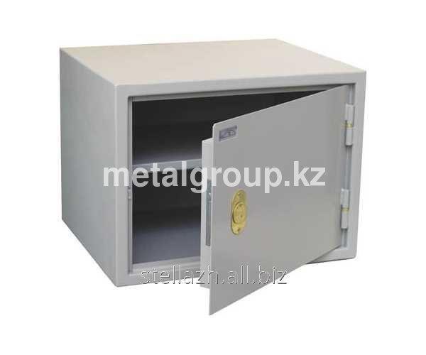 Металлический бухгалтерский шкаф КБС - 02
