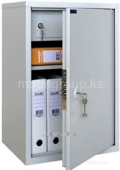Металлический бухгалтерский шкаф КС-1-Т