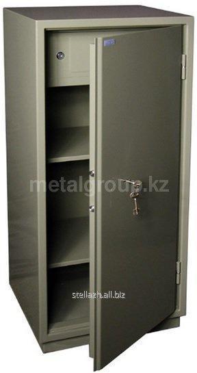 Металлический бухгалтерский шкаф КС-4-Т