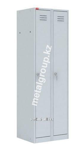 Металлический шкаф для одежды ШРМ - 22 М
