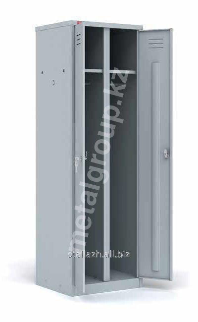 Металлический шкаф для одежды ШРМ – АК