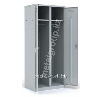 Металлический шкаф для одежды ШРМ - C