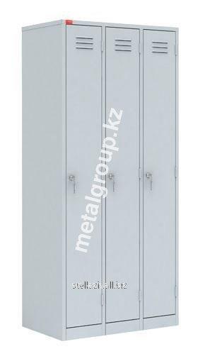 Металлический шкаф для одежды ШРМ – 33