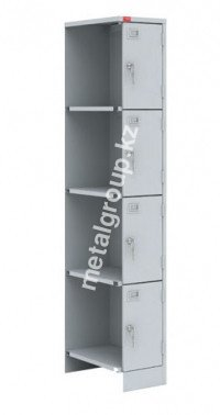 Металлический шкаф для одежды ШРМ–14 М