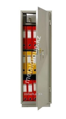 Металлический бухгалтерский шкаф КБС - 021Т