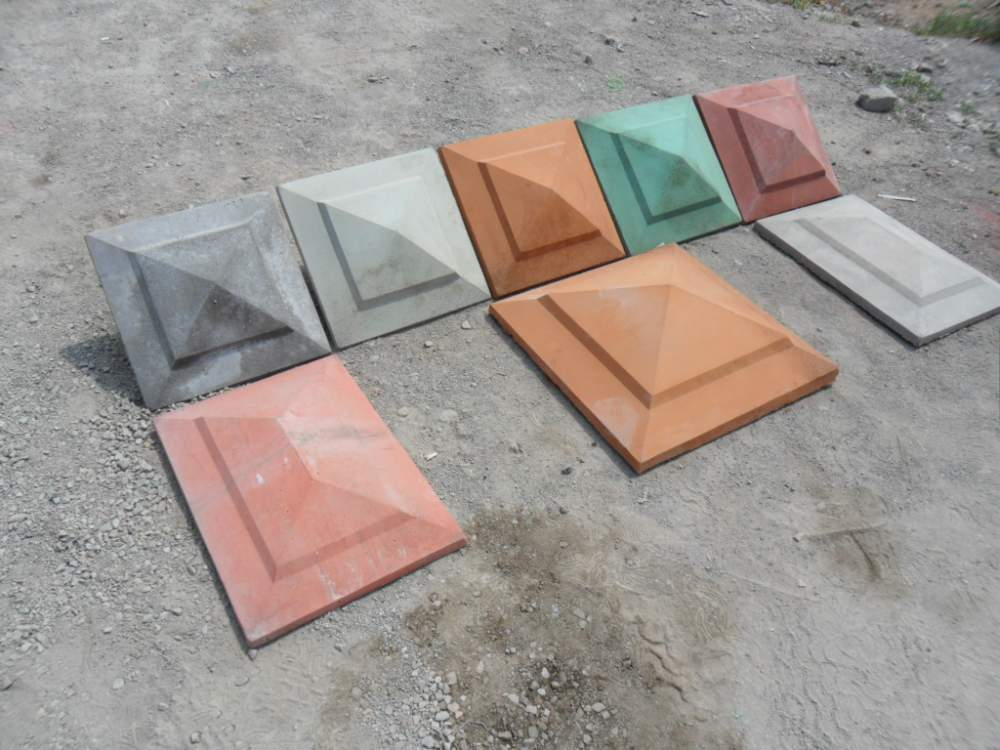 Buy Nakryvochny element of a column, protective equipment for a stone