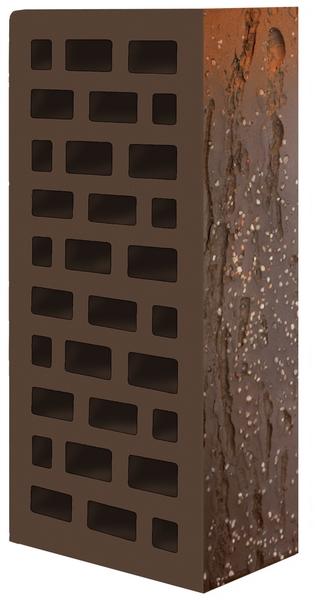 Кирпич  декоративный  Винтаж- красно-коричневый  250х120х65
