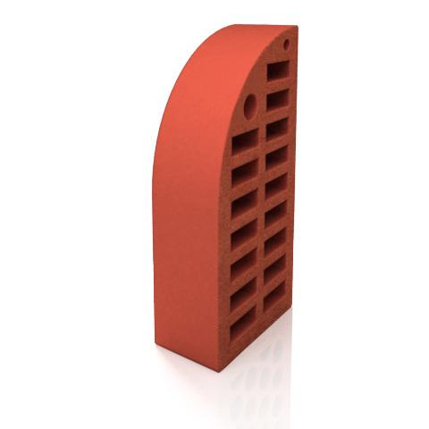 Керамический кирпич фигурный