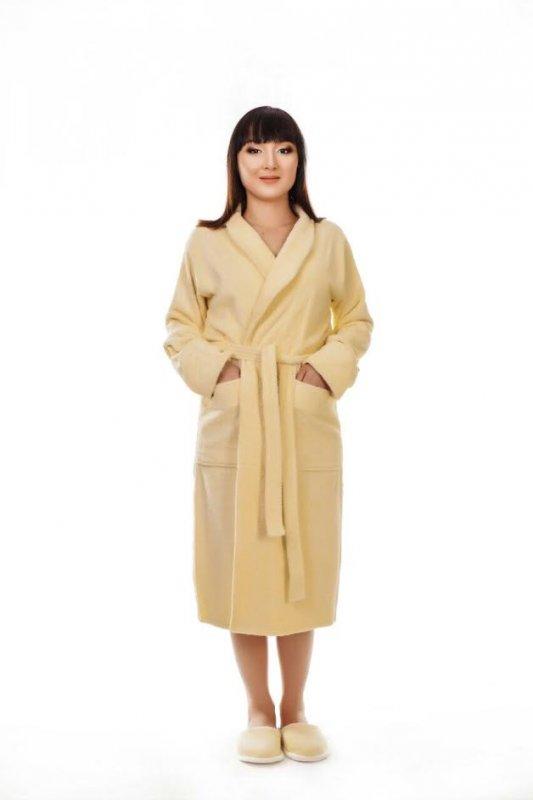 Купить Халат женский махровый кимоно, арт. 200
