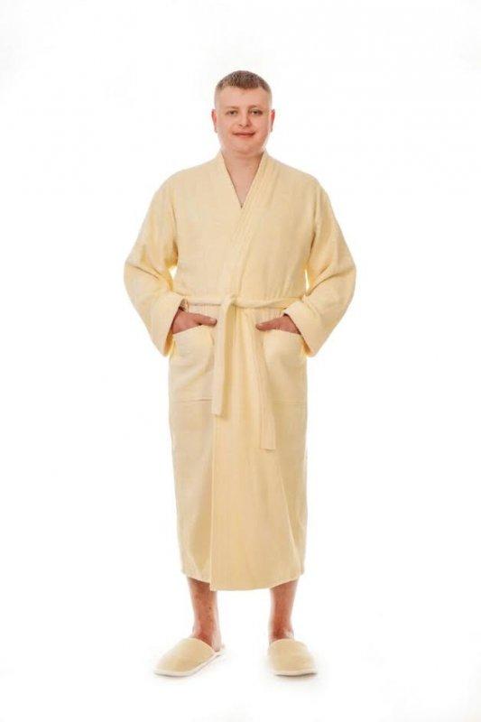 Купить Халат мужской махровый кимоно, арт. 100