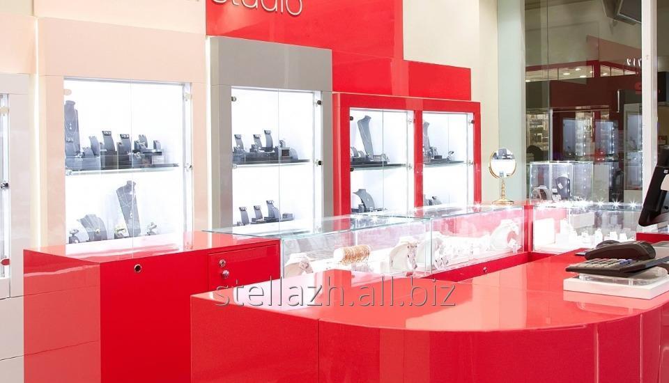 Мебель для ювелирных магазинов