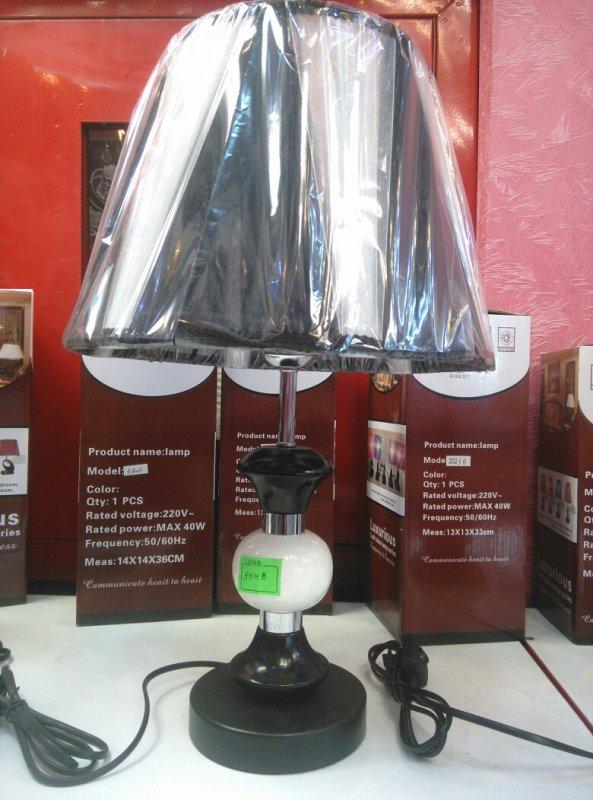 Купить Черная настольная лампа Цоколь Е27 40Вт
