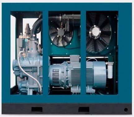 Купить Высоковольтный винтовой электрический компрессор DL-46/8GA (250кВт, SKY258LM, 6000B)