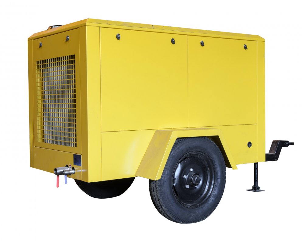 Купить Электрический передвижной винтовой компрессор DLDY-12/10GA (SKK148MМ-C)