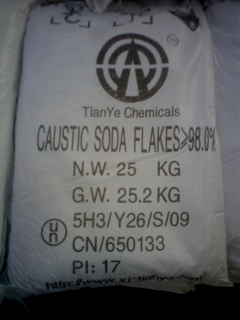 Сода каустическая, гидроксид натрия