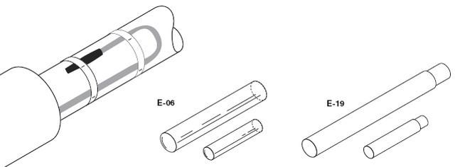 Термоусаживаемый набор для оконцевания E-06