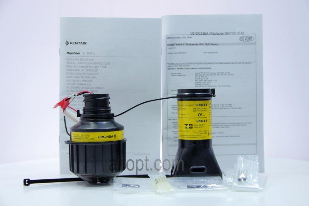 Концевая заделка с индикационной лампой Е-100-L2-E