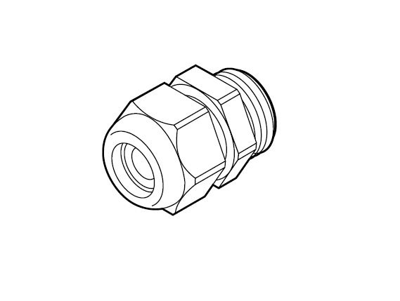Кабельный сальник М20 GL-50-M20