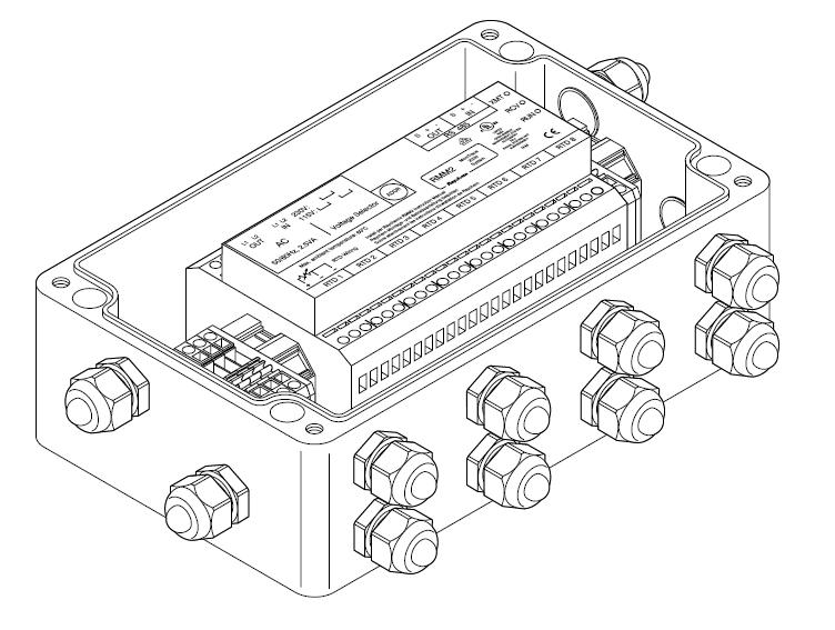 Блок удаленного измерения температур (EEx n) MONI-RMM2-EX-E