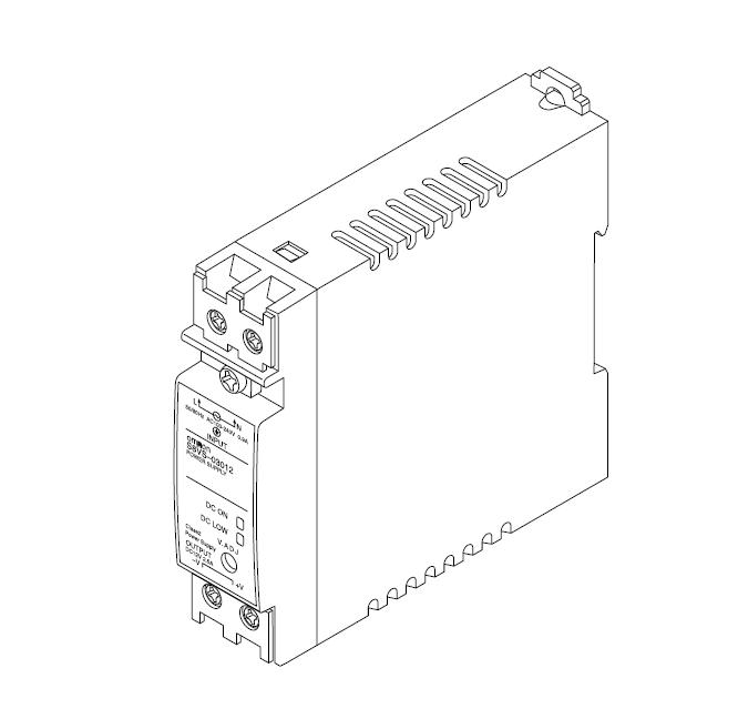 Блок питания системы удаленного контроля MONI-PS12