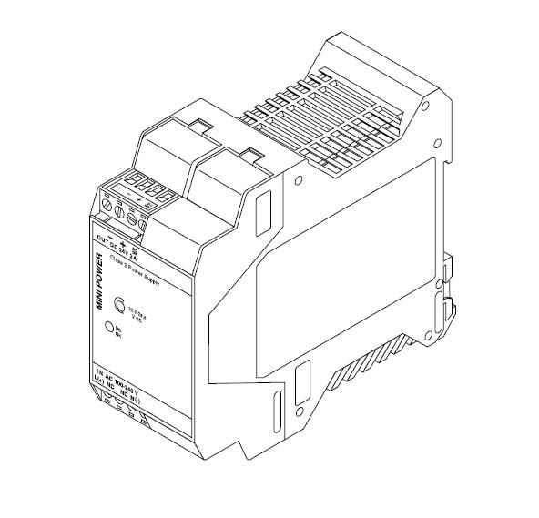 Блок питания системы удаленного контроля MONI-RMC-PS24