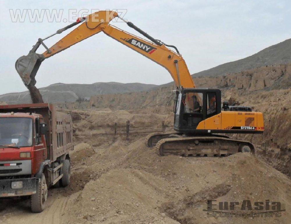 SY215C, SANY excavator buy in Kostanaj