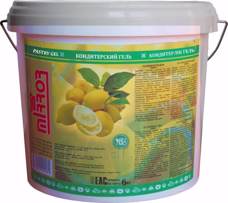 Гель лимон, 6 кг, код: 4870004101531