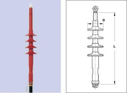 Концевая муфта RWIT-25/1x150-240-L12 для внутренней установки