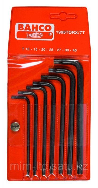 Набор оксидированных шестигранников под винты TORX® 1995TORX/7T Bahco