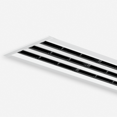 Купить Лицевая часть щелевого диффузора VSD35-4-F/1090/C2/B00/WH